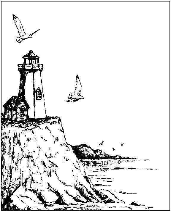 The Nereid & The Lighthouse at Cape Kayli